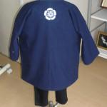 子供ダボシャツ 背-家紋2